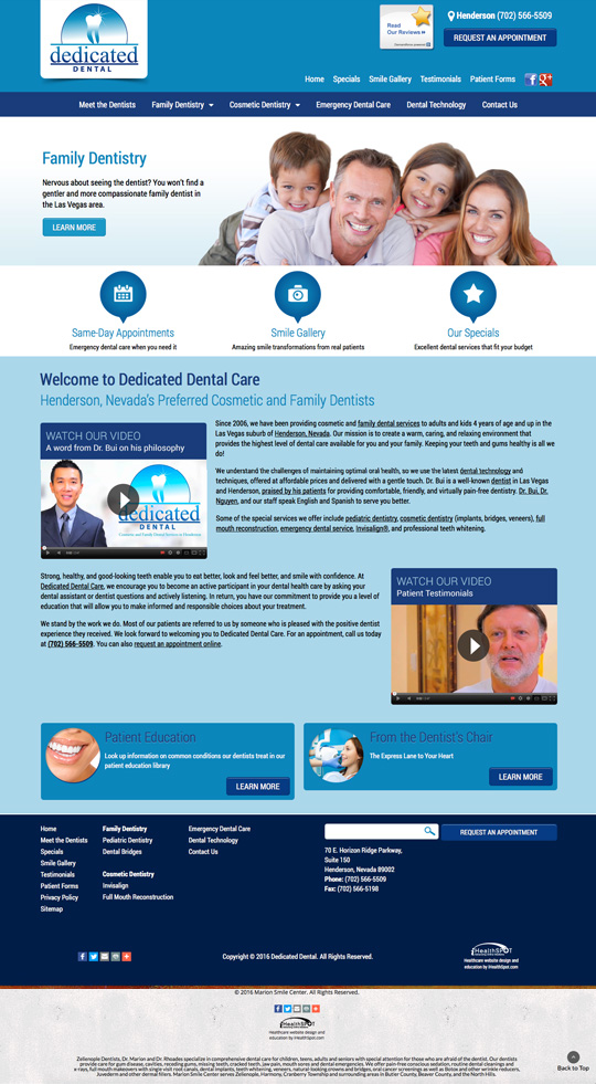 Dedicated Dental Care
