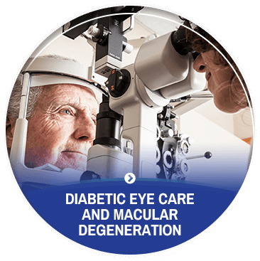 Diabetic Eye Care and ​​​​​​​Macular Degeneration